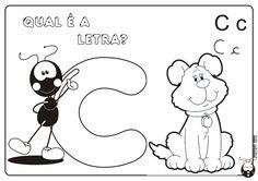 Alfabeto Smilinguido 4 tipos de letra para Baixar Grátis Letra C