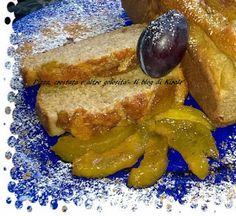 Il blog di Kiralo': Plumcake integrale con prugne