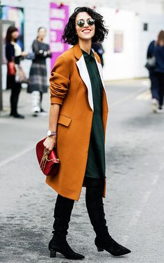 This is everything I want in the world.  Cool Street Style Looks to Copy for Under $150 via @WhoWhatWear