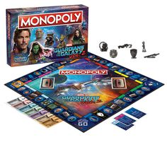 Guardians of the Galaxy Vol. 2 Monopoly Game