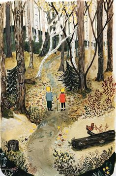 Lindsey Loré Pemberton Illustrations by LlorePemberton Art And Illustration, Hansel Y Gretel, Little Mac, Gouache Painting, Whimsical Art, Painting Inspiration, Etsy, Fine Art Prints, Drawings