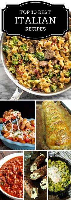 Top 10 best Italian Recipes