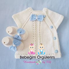 Baby Vest Models More than 40 best examples - Bebek Yelekleri Knitting Terms, Knitting For Charity, Knitting Blogs, Knitting Kits, Knitting For Kids, Crochet Baby Sweaters, Knitted Baby Clothes, Knitted Baby Blankets, Crochet Clothes