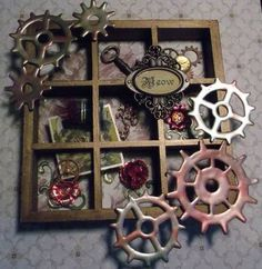 Steampunk Cat by Tinnalee - Cards and Paper Crafts at Splitcoaststampers