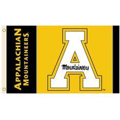"Appalachian State Mountaineers 12/"" X 30/"" Yosef Pennant"