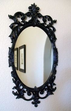 Image result for damask wall with frames