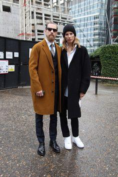 Justin O'Shea y Veronika Heilbrunner, son la parejas más reconocida por las calles.