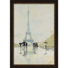 Gorgeous #eiffeltower textured print. Even a rainy day in #paris is a good day! #artsale