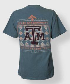 Texas A&M Tribal Print t-shirt #AggieGifts #AggieStyle
