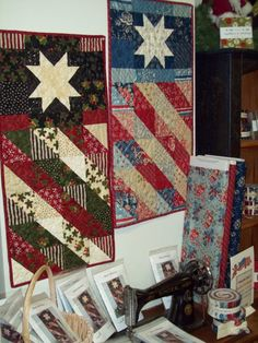 good flag wallhanging idea