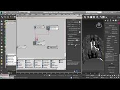 (17) particle per face and  displacement tutorial-3ds max particle flow - YouTube