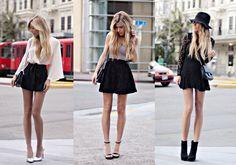 cocorosa: Top 10 Fashion Bloggers Most Sexy Legs