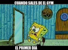 Primer día de gym