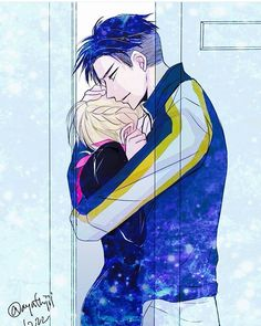 hugs. I like that they did something for Yurio even though he is a brat