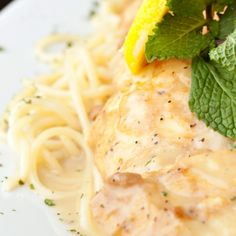 A recipe for Lemon Chicken Breasts that is wonderful served over pasta or rice.. Juicy Lemon Chicken Breasts Recipe from Grandmothers Kitchen.