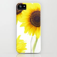 Three Sunflowers  iPhone Case by Tanja Riedel - $35.00