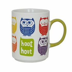 Food Network Owl Coffee Mug
