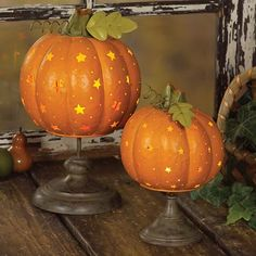 Pumpkin Décor Ideas For Home Fall Décor | DigsDigs Little stars
