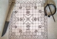 Want to discover art related to hnefatafl? Check out inspiring examples of hnefatafl artwork on DeviantArt, and get inspired by our community of talented artists. Old Board Games, Game Boards, Fun Games, Games To Play, Forge Game, Viking Chess, Vikings Game, Nordic Vikings, Diy And Crafts