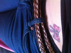 #bow #red #tattoo