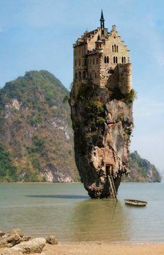 Island Castle どうやって入るんだ?w