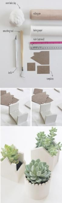 Little Clay House Potters for Succulents 50 Tiny And Adorable DIY Stocking Stuffers (scheduled via ) Continue reading by clicking the image or link, or why not visit us in person at our salon for more great inspirational hair ideas. Diy Clay, Clay Crafts, Diy And Crafts, Clay Projects, Diy Projects To Try, Homemade Gifts, Diy Gifts, Advent Calendar Gifts, Diy Stockings