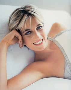England's rose: Diana, Princess of Wales, photographed for Vanity Fair in 1997.