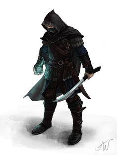 Assassin by lithriel.deviantart.com on @DeviantArt