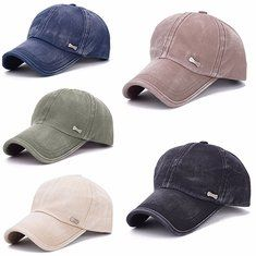 Unisex Cotton Camouflage Embroidery Baseball Cap Casual Outdoor Adjustable Golf Snapback Hat - Banggood Mobile