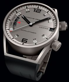Porsche Design Worldtimer Watch - So beautiful!!!