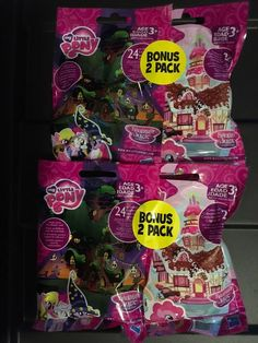 MY LITTLE PONY WAVE 15 Wave 18 Bonus Pack Blind Bags Lot Of 4  | eBay