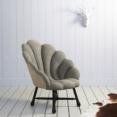 Ariel Shell chair for my future daughters mermaid room!!!