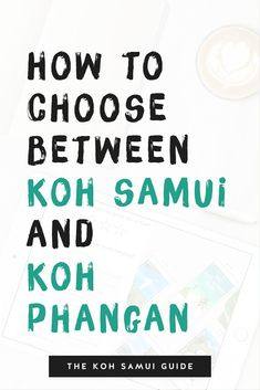 """How to choose between Koh Samui and Koh Phangan? Koh Samui or Koh Phangan? It's a debate as futile as New York vs Boston. You'll hear noise and opinions, but there's no finite answer. Everyone has a preference and you'll notice stereotypes are quick to follow: """"overdeveloped!"""" """"rustic!"""" """"touristy!"""" """"boring!"""" """"families!"""" """"backpackers!"""" We think it all depends where you hang your hat. 