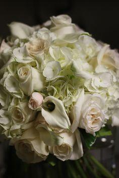 Flowers: white and cream