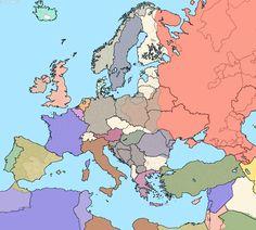 European borders in 1937 over current ones