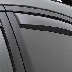 WeatherTech 71330 Series Light Smoke Rear Side Window Deflectors - Side Window Deflectors WeatherTech(R) Side Window Deflectors, offer fresh air enjoyment with an original equipment look, installing within the window channel. They are crafted from the finest 3mm acrylic material available. Installation is quick and easy, with no exterior tape needed. WeatherTech(R) Side Window Deflectors are precision-machined to perfectly fit your vehicle's window channel. These low profile window…