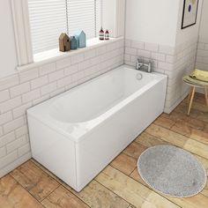 Shop the Banbury Premiercast Single Ended Bath at Victorian Plumbing UK. Family Bathroom, Small Bathroom, Bathrooms, Bathroom Ideas, Straight Baths, Double Ended Bath, Long Bath, Bath Panel