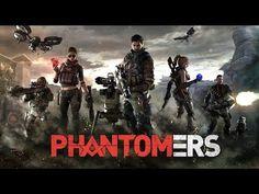 Игра Phantomers тест - P 90 и M40A1