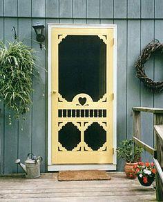love screen doors!