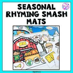 Seasonal Rhyming Games and Smash Mats