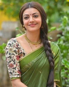 32b6c3ebc1fb4 Check Out Exclusive Unseen HD Photos of Heroine Kajal Aggarwal in Half Saree  in Nene Raju Nene Mantri