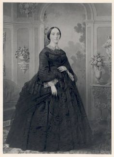 Apolline Alexander Blair, founder of the St. Louis Children's Hospital and its first president from 1879 to 1883. Blair, the widow of Civil War general and later Senator Francis P. Blair, Jr., asked friends to join her in establishing a hospital for children after two of her children died from infectious diseases.