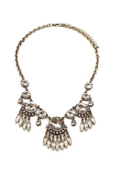 This necklace can make you feel fancy even if you're just in jeans and a tee for the day!