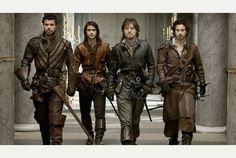 Attention, American Hooligans: The BBC series The Musketeers is coming to BBC America in June.  Omg, Luke Pasqualino!