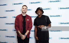 Tony Oller and Malcolm Kelley of MKTO visit the SiriusXM Studios on July 22, 2015 in New York City.