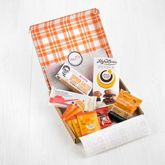 Thoughtful letterbox gifts that can be sent straight through the recipients post box safely and securely! Post Box Gifts, Letterbox Gifts, Ginger Cookies, Tutti Frutti, Gift Boxes, Gifts For Friends, Sweet Tooth, Food, Gingerbread Cookies