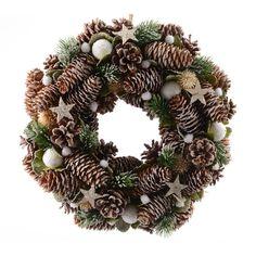 Corona di Natale decorata Stella : scegli tra tutti i nostri prodotti Corone di Natale