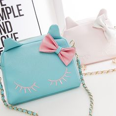 """Sweet cute cat chain bag  If you want to buy this use this coupon code """" Nikola """" to get all 10% OFF"""