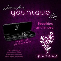Make your party Younique!  or Join my TEAM in 2014!  Younique Make-up Presenters Kit! Join today for only $99 and start your own home based business. Do you love make-up?  So many ways to sell and earn residual  income!! Your own FREE Younique Web-Site and no auto-ship required!!! Fastest growing Make-up company!!!! Start now doing what you love!  https://www.youniqueproducts.com/KathysDaySpa