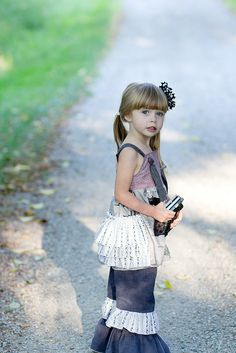 create kids couture genevieves ruffle knot top